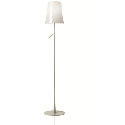 Торшер Foscarini Birdie Lettura with touch dimmer bianco