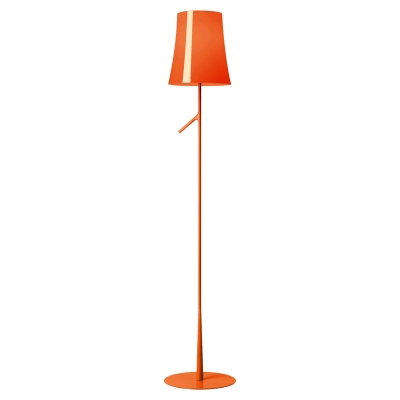 Торшер Foscarini Birdie Lettura with touch dimmer arancio