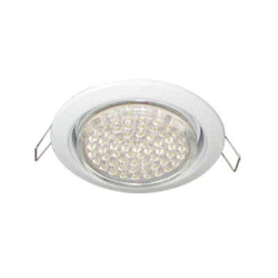FW53H4ECB Встраиваемый светильник Ecola GX53 H4 Downlight without reflector_white (светильник) 38x106