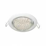 FW53H4ECB Встраиваемый светильник Ecola GX53 H4 Downlight without reflector white (светильник) 38x106