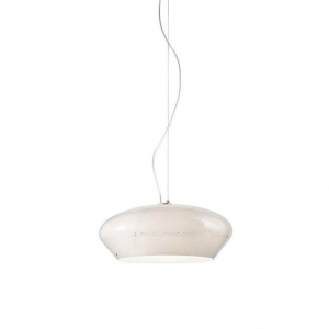 Подвесной светильник Vistosi Marble' Hang. 45 D1 White Silver Nickel E27 SPMARBL45D1BCNI