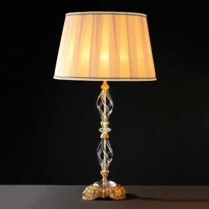 Декоративная настольная лампа Euroluce Lampadari Alicante Satin transparent glass 1052 (112071/LG1L)