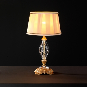 Декоративная настольная лампа Euroluce Lampadari Alicante Satin transparent glass 1052 1053 (112071/LP1L)
