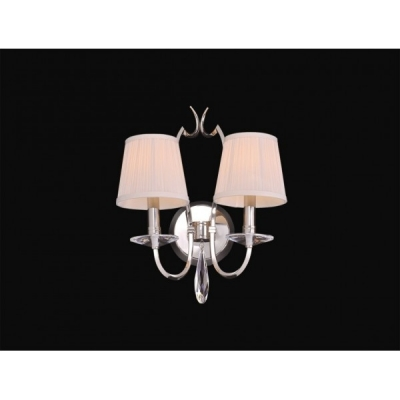 Бра Newport 31202/A Nickel Crystal clear Shade beige