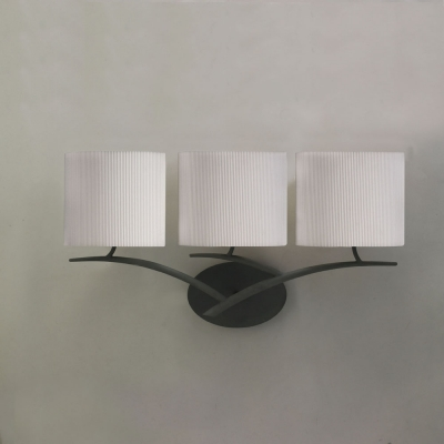 Бра Mantra Eve Forja - P. Creama 3 lights 1156 Grey Anthracite/Off White Shade