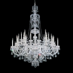 Подвесная люстра Schonbek Sterling Heritage Chandelier 3612 Polished Silver